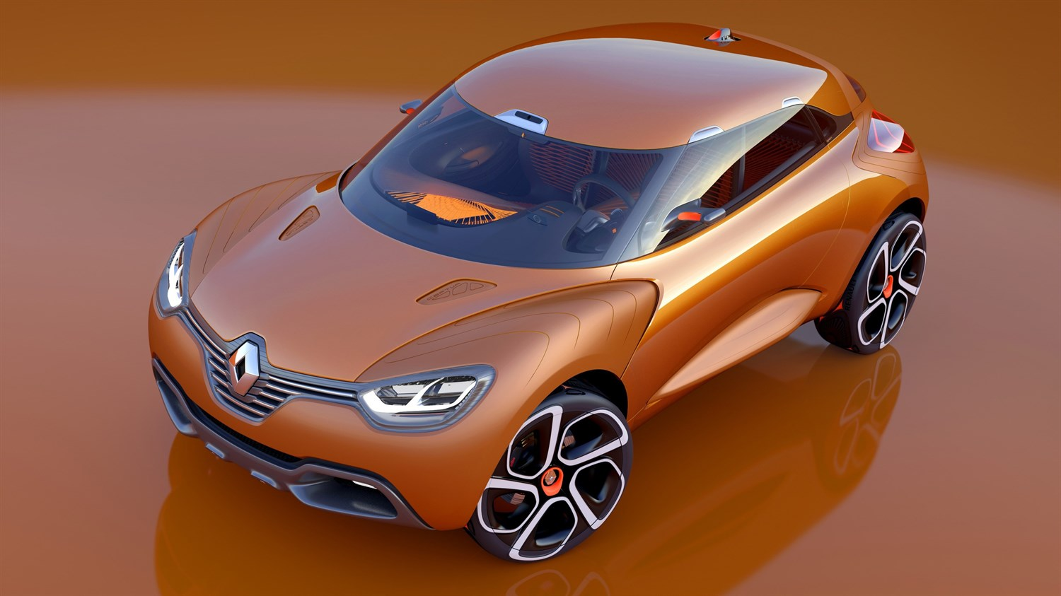 Renault CAPTUR Concept - view of vehicle from above