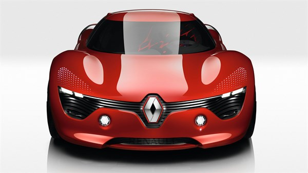 Renault DEZIR Concept - front end - new visual identity